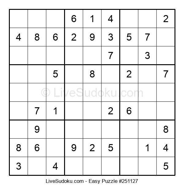 Beginners Puzzle #251127