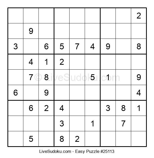 Beginners Puzzle #25113