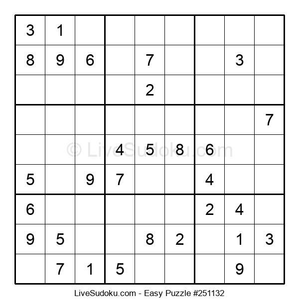 Beginners Puzzle #251132
