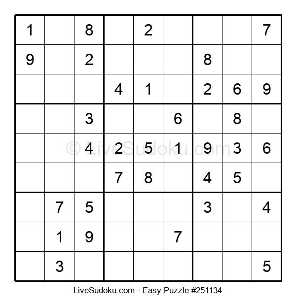 Beginners Puzzle #251134