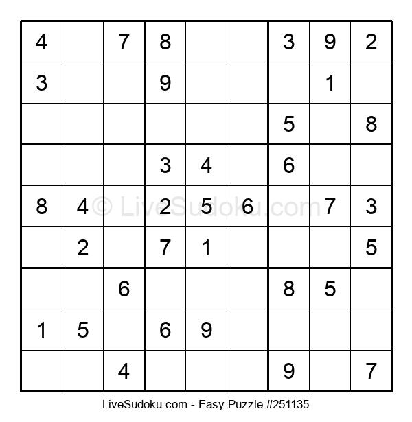 Beginners Puzzle #251135