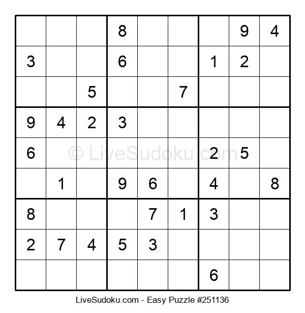 Beginners Puzzle #251136