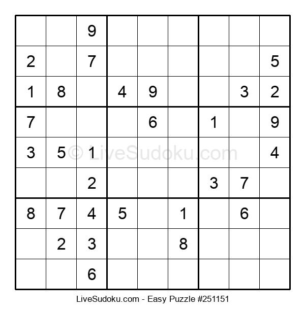 Beginners Puzzle #251151
