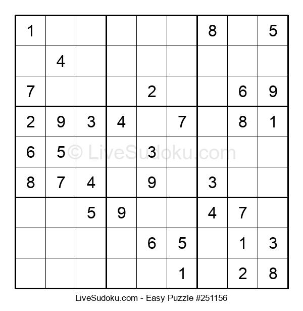Beginners Puzzle #251156