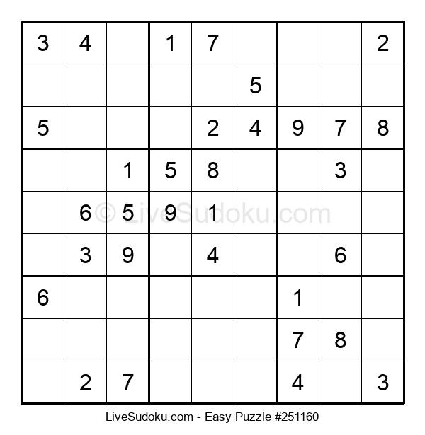 Beginners Puzzle #251160