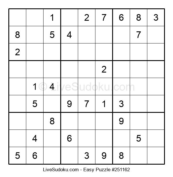 Beginners Puzzle #251162