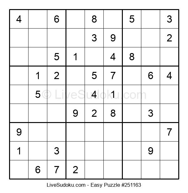 Beginners Puzzle #251163
