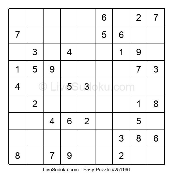 Beginners Puzzle #251166