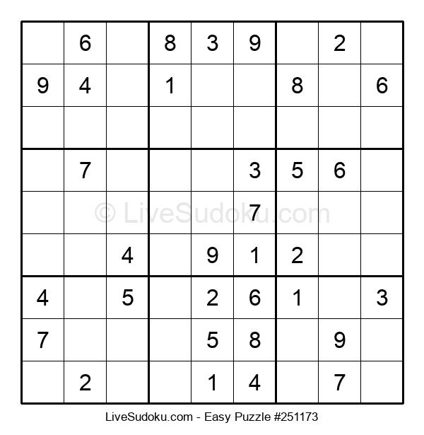 Beginners Puzzle #251173