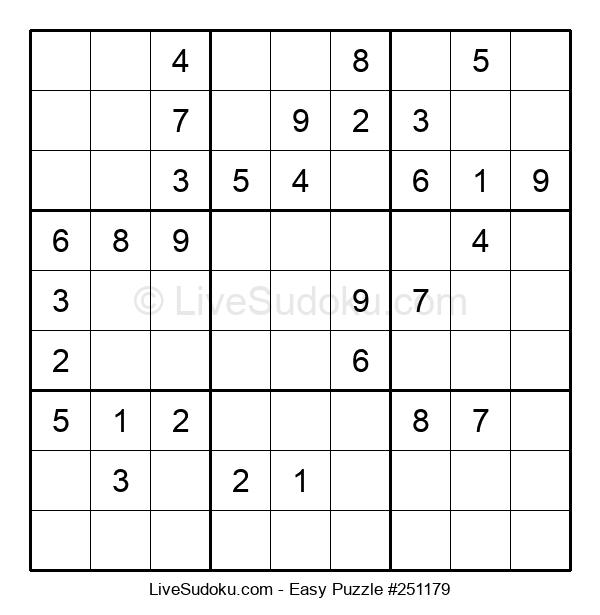 Beginners Puzzle #251179