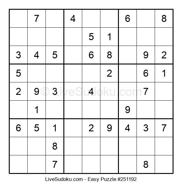 Beginners Puzzle #251192
