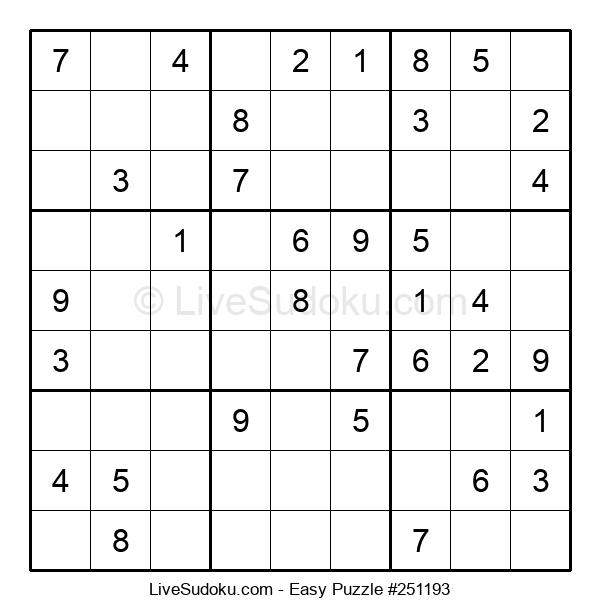 Beginners Puzzle #251193