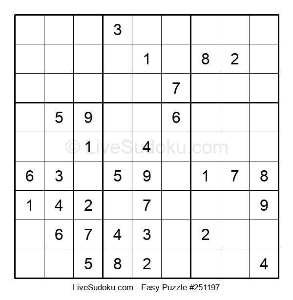 Beginners Puzzle #251197