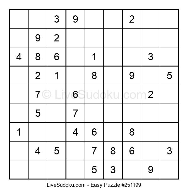 Beginners Puzzle #251199