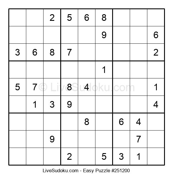 Beginners Puzzle #251200