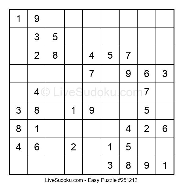 Beginners Puzzle #251212