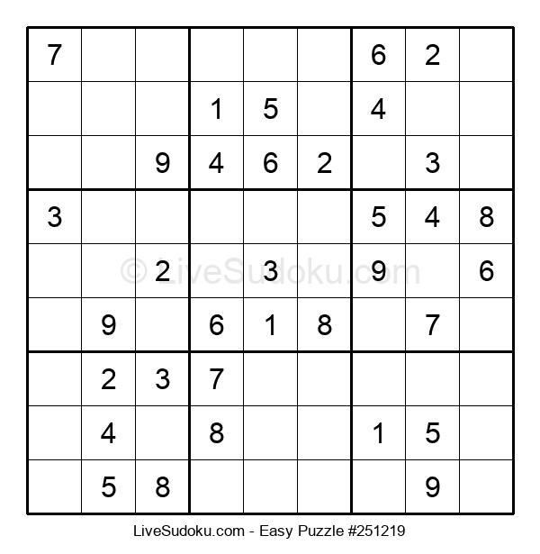 Beginners Puzzle #251219