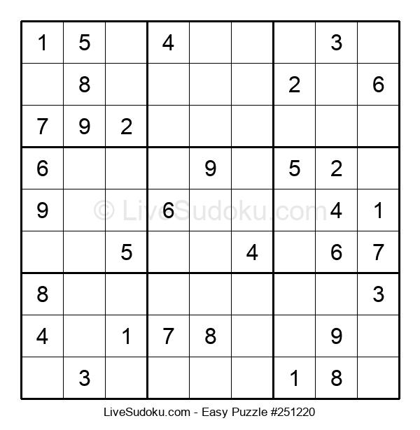 Beginners Puzzle #251220