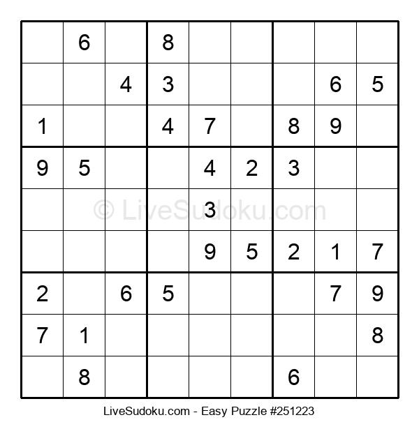 Beginners Puzzle #251223
