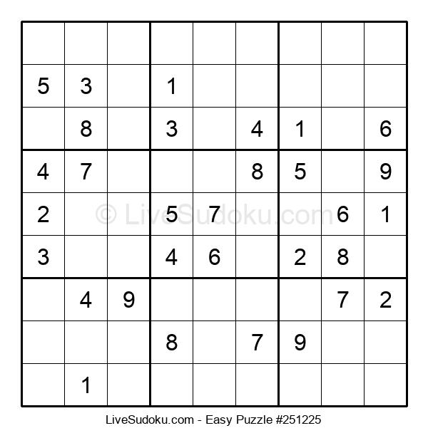 Beginners Puzzle #251225