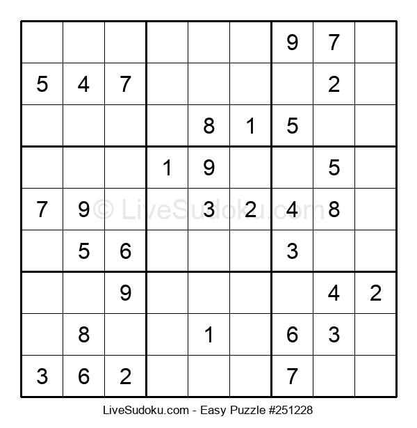 Beginners Puzzle #251228