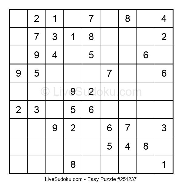 Beginners Puzzle #251237