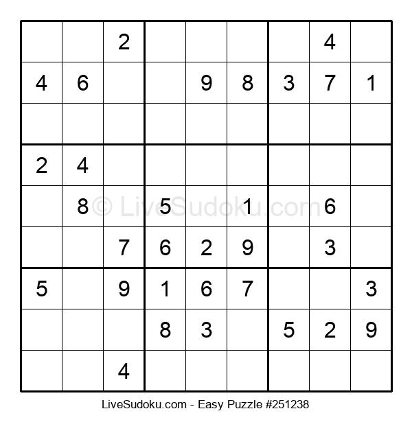 Beginners Puzzle #251238
