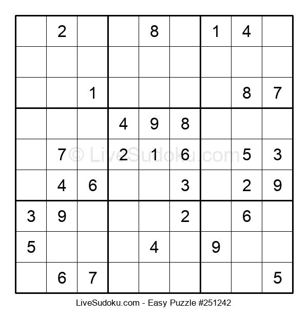 Beginners Puzzle #251242