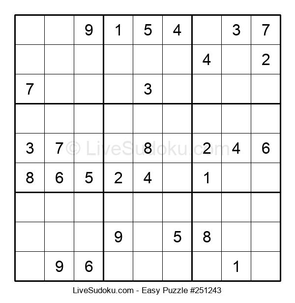 Beginners Puzzle #251243