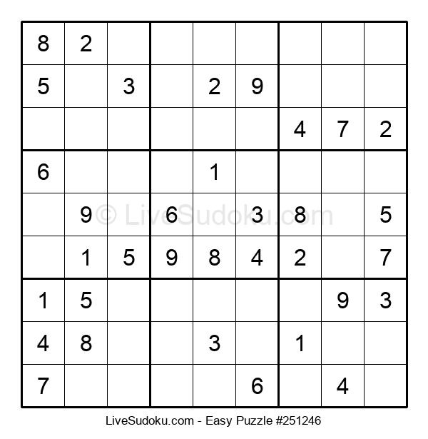 Beginners Puzzle #251246