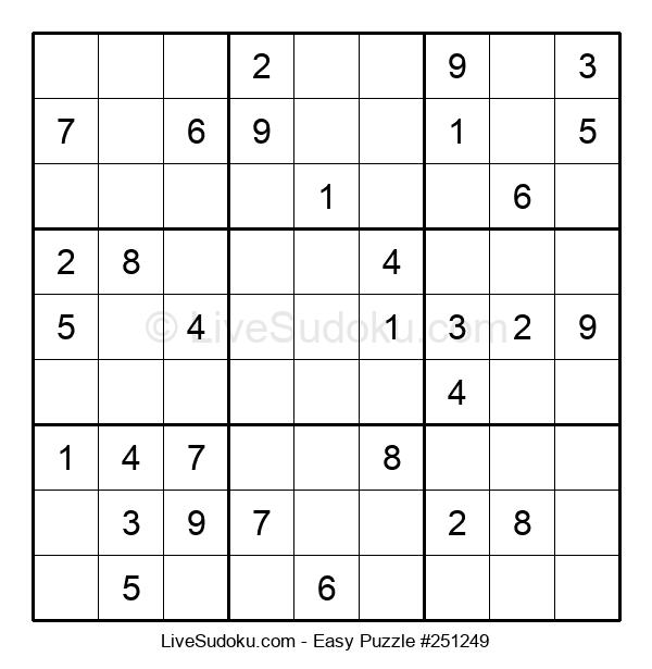 Beginners Puzzle #251249