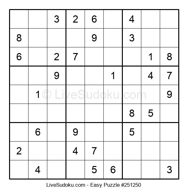 Beginners Puzzle #251250