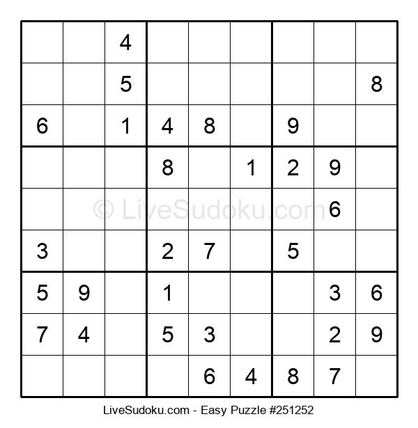Beginners Puzzle #251252