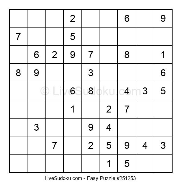 Beginners Puzzle #251253