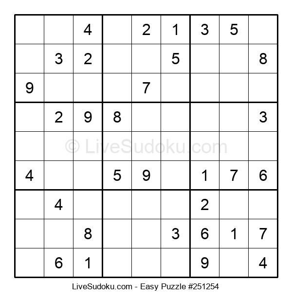 Beginners Puzzle #251254
