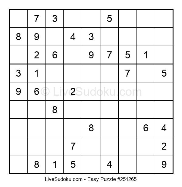 Beginners Puzzle #251265