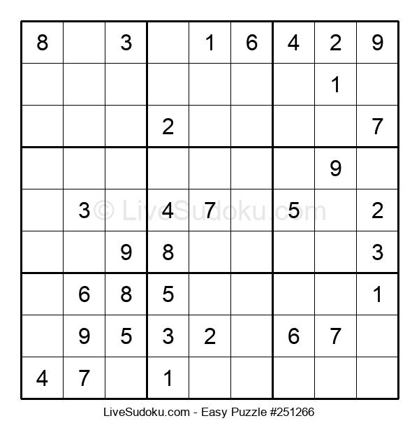 Beginners Puzzle #251266