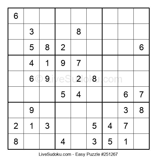 Beginners Puzzle #251267