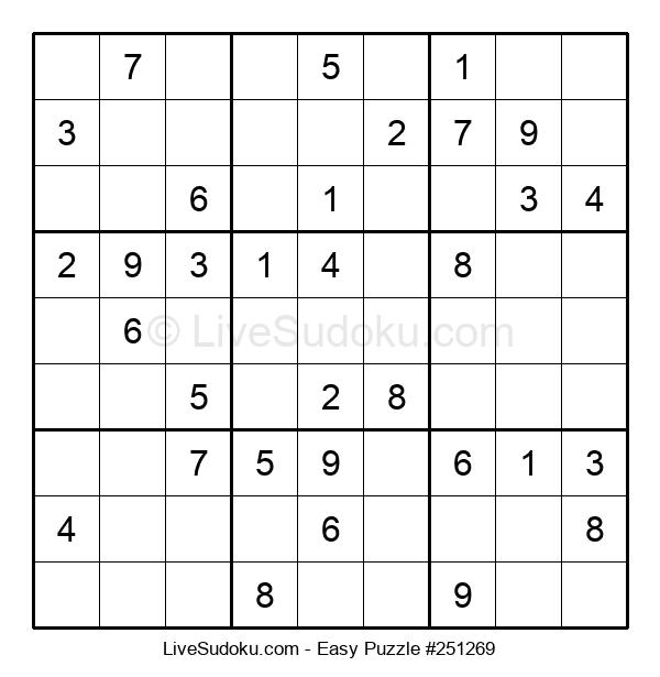 Beginners Puzzle #251269