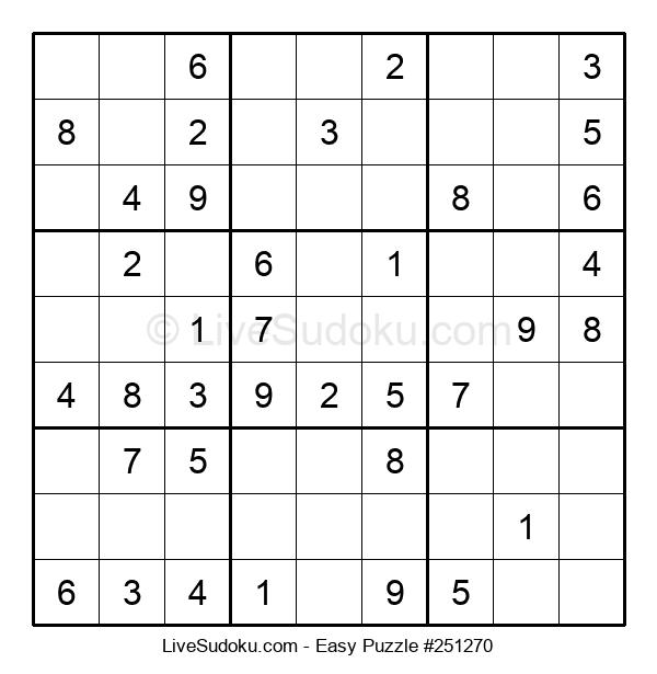 Beginners Puzzle #251270