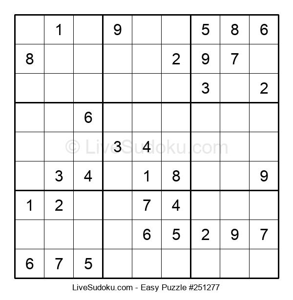 Beginners Puzzle #251277