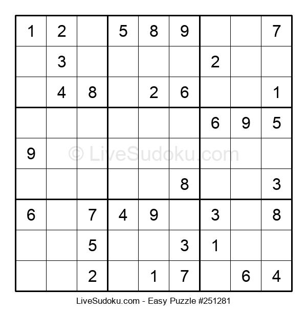 Beginners Puzzle #251281