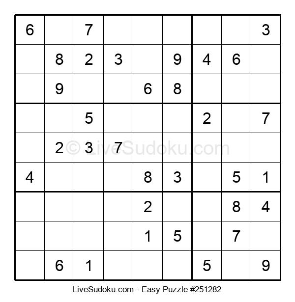 Beginners Puzzle #251282