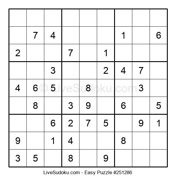 Beginners Puzzle #251286