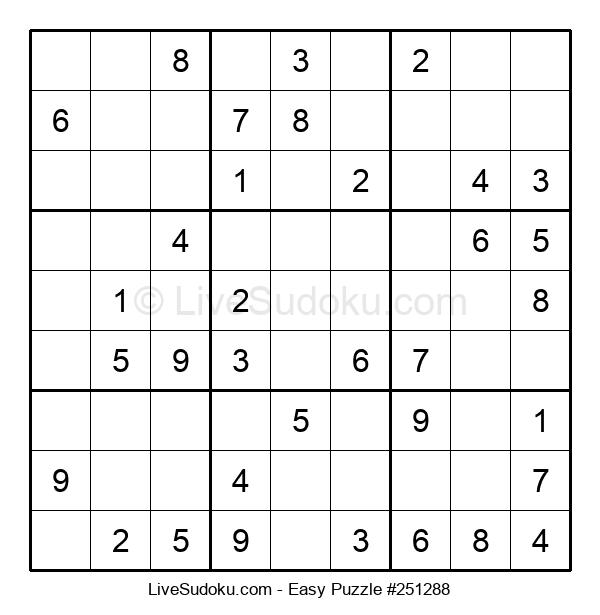 Beginners Puzzle #251288