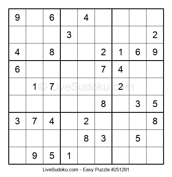 Beginners Puzzle #251291
