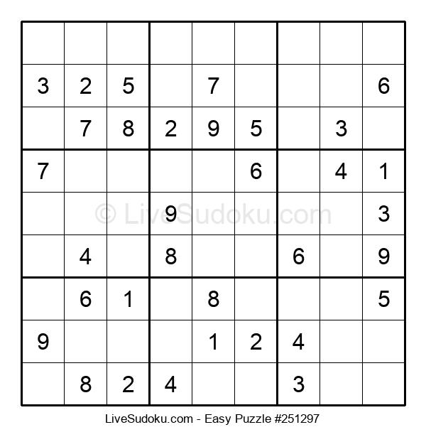 Beginners Puzzle #251297