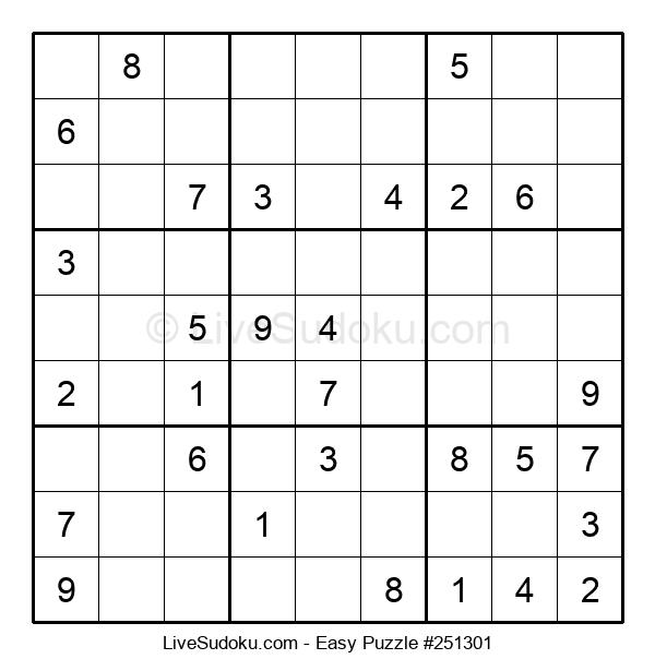 Beginners Puzzle #251301