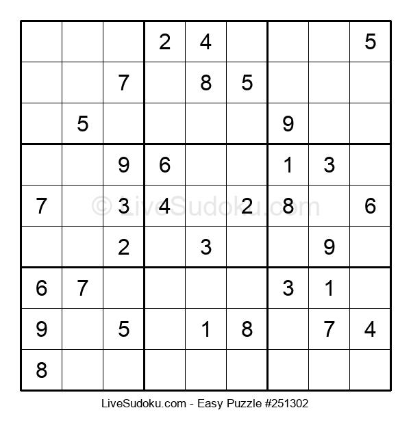 Beginners Puzzle #251302