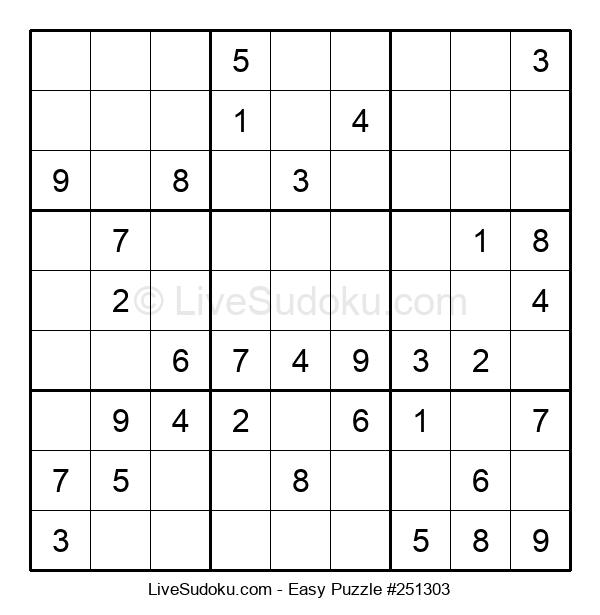 Beginners Puzzle #251303